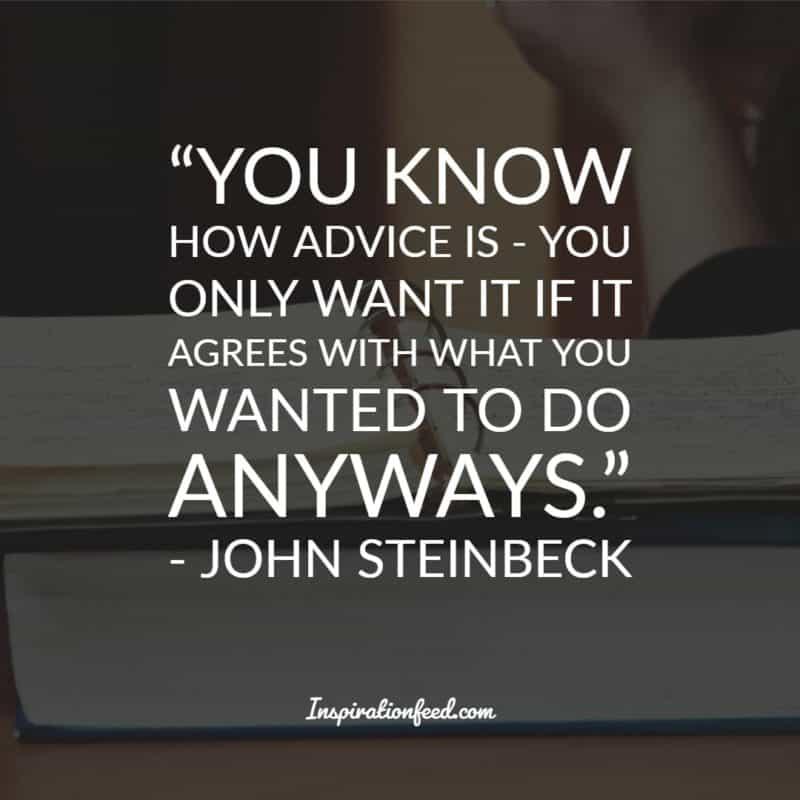 John Steinbeck Quotes