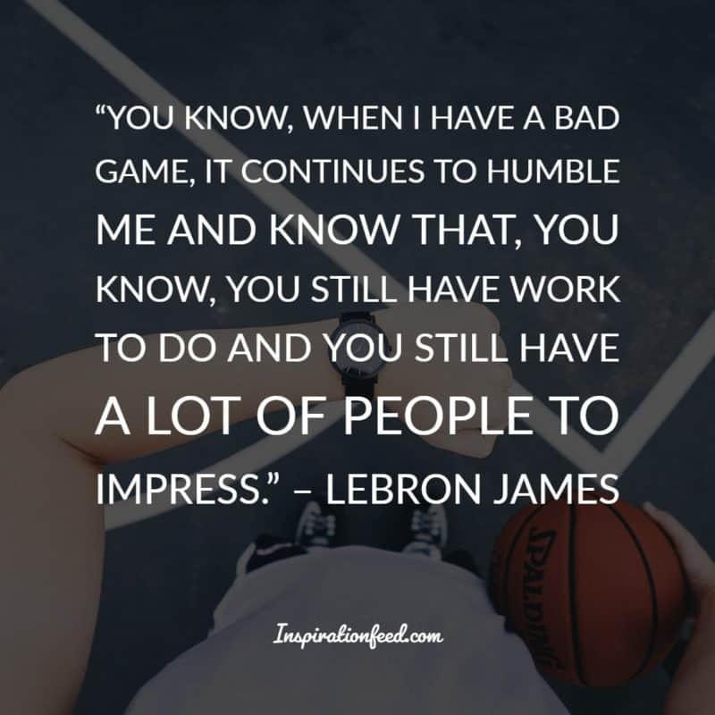LeBron James Quotes