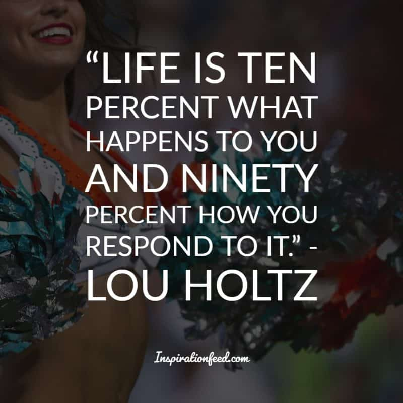 Lou Holtz Quotes and Sayings
