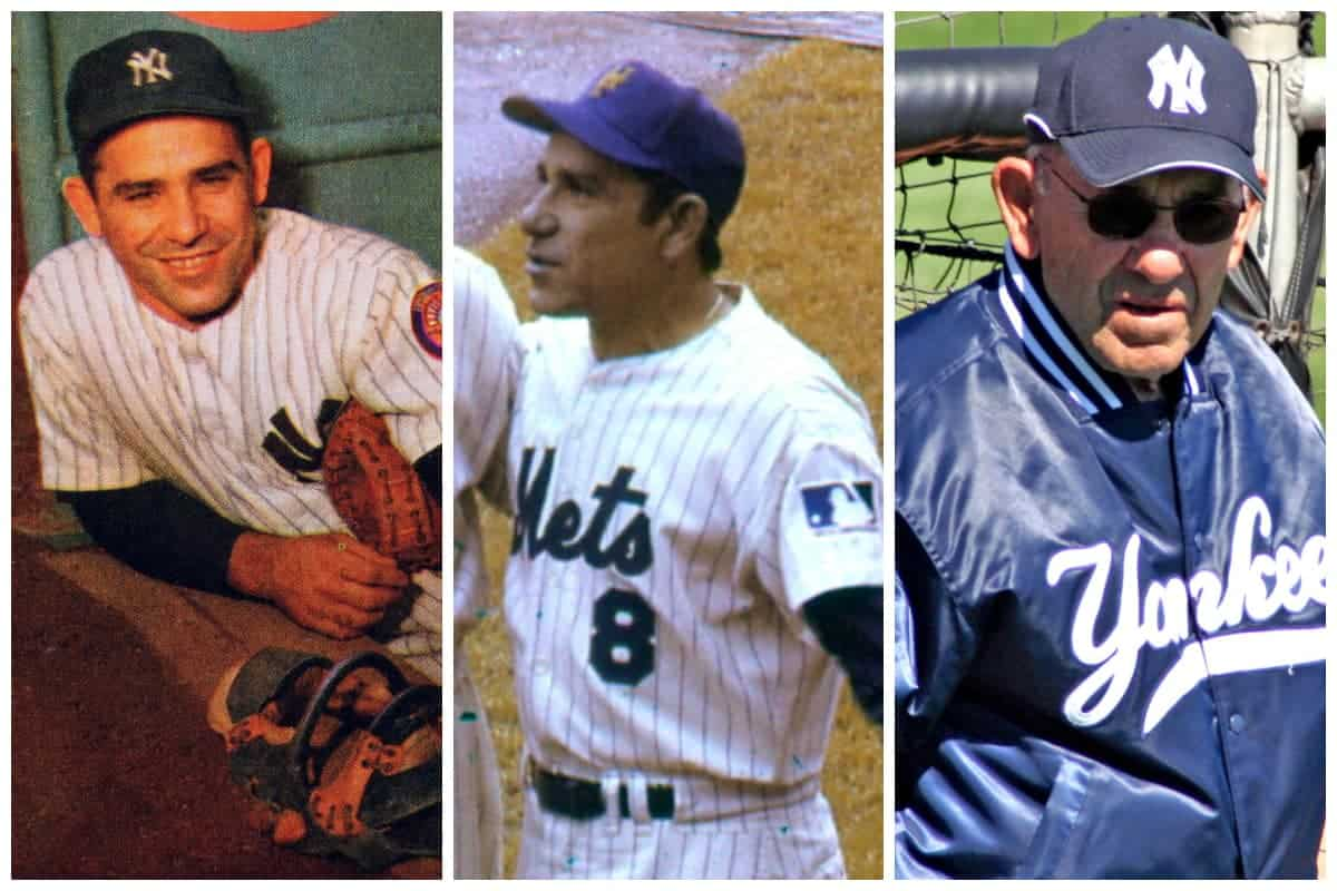 Yogi Berra Collage