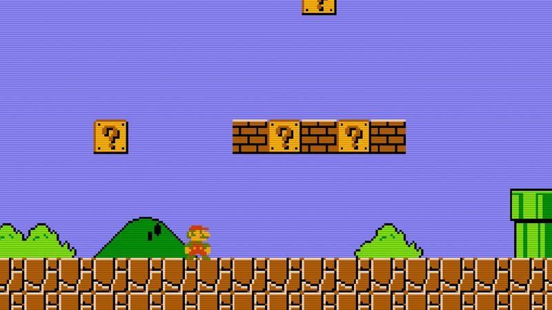 Mario Nintendo emulator