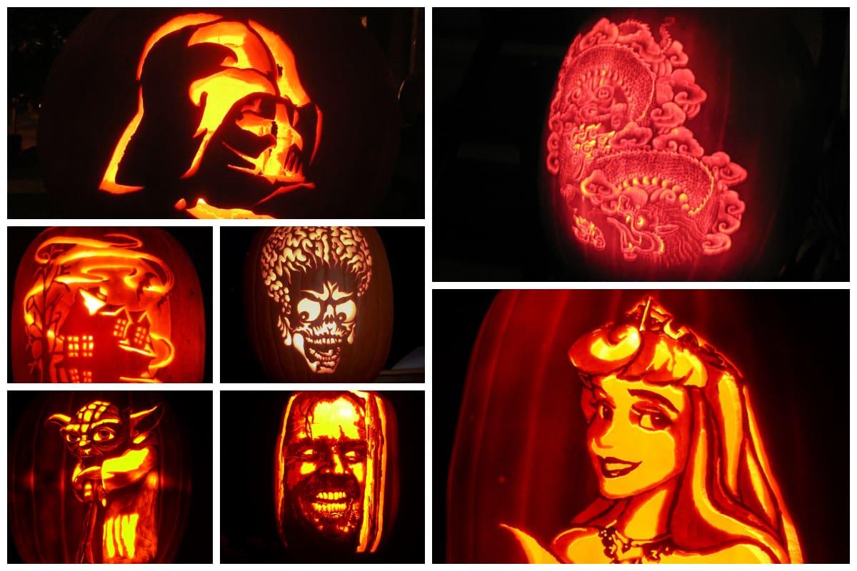 90 Creative Pumpkin Carving Designs