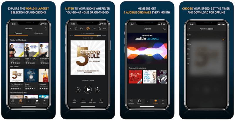 Audible iphone app