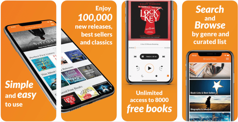 Audiobooks iphone app