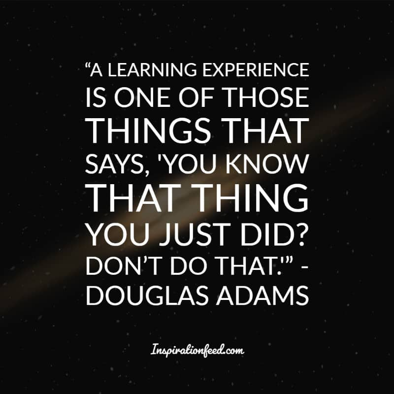 of the best douglas adams quotes about the universe