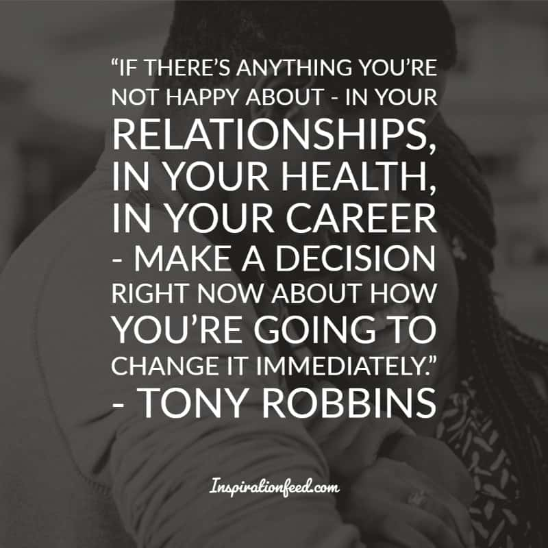 inspirational tony robbins quotes about success and life