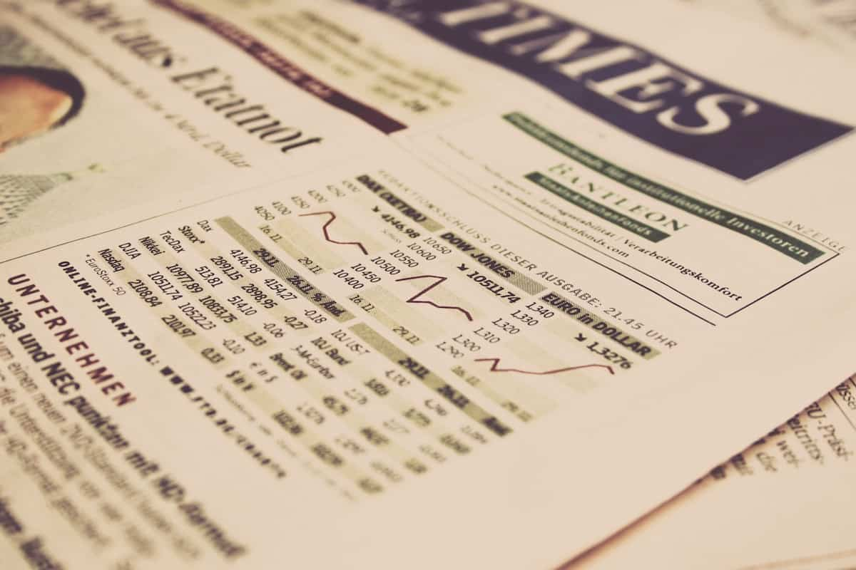 Business Newspaper About Stock Market