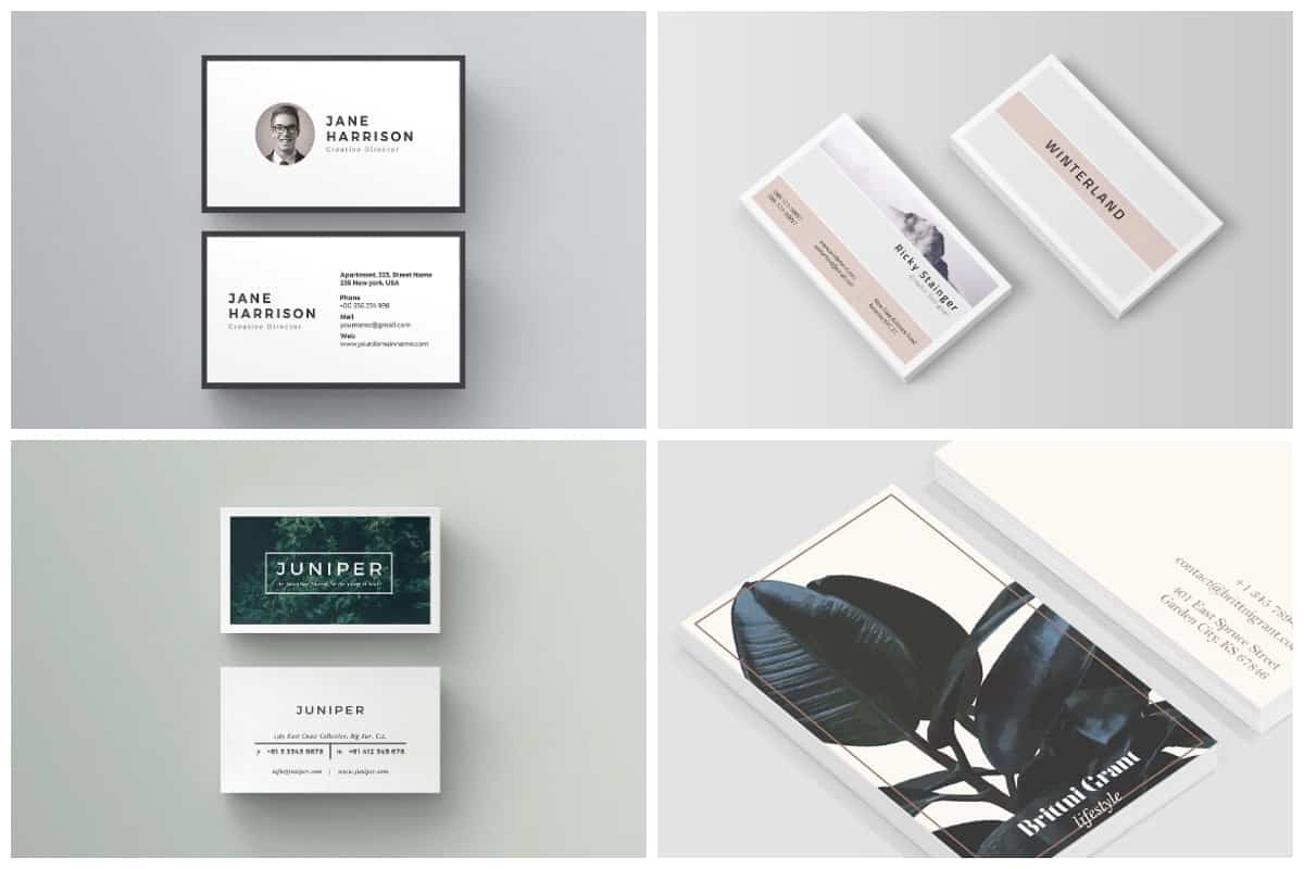 Unique Business Card Templates