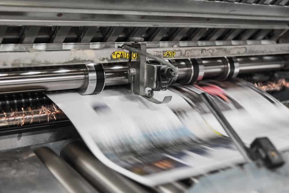 Mass Producing Newspapers