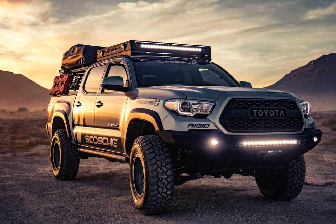 Stunning offroad toyota truck-min
