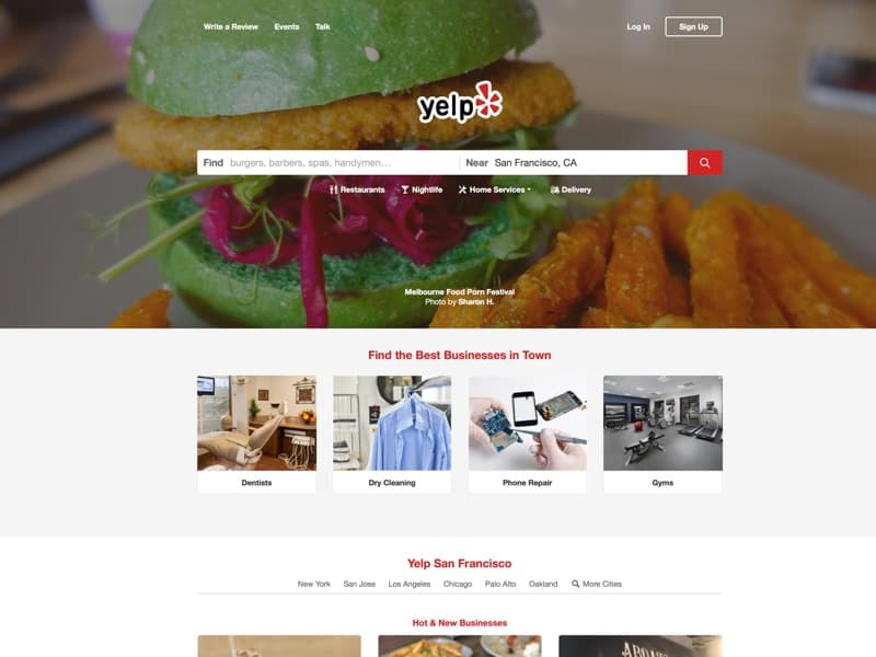 User Reviews and Recommendations of Best Restaurants, Shopping, Nightlife, Food, Entertainment, Things to Do, Services and More at Yelp