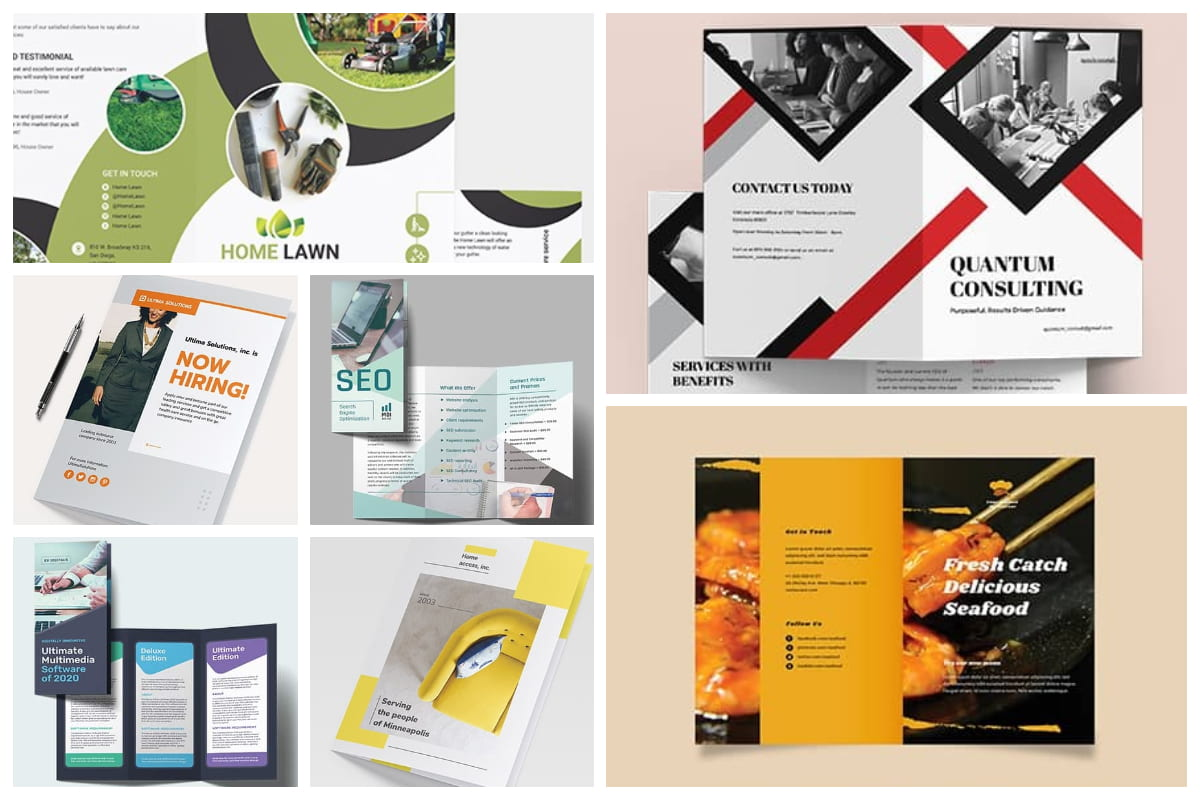 Top 23 Brochure Designs for your Business Inspiration Inside Ngo Brochure Templates