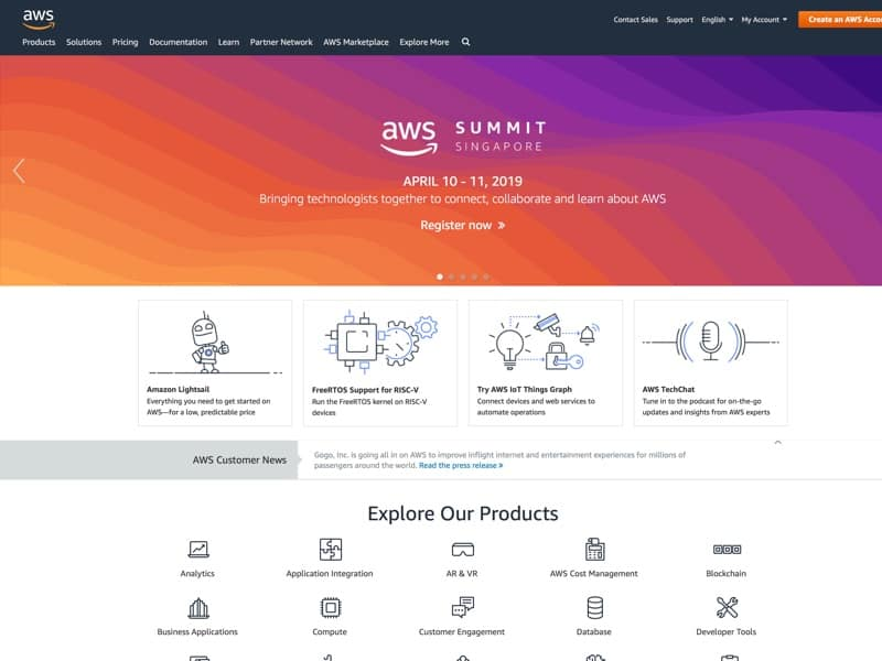 Amazon Web Services offers reliable, scalable, and inexpensive cloud computing services. Free to join, pay only for what you use.