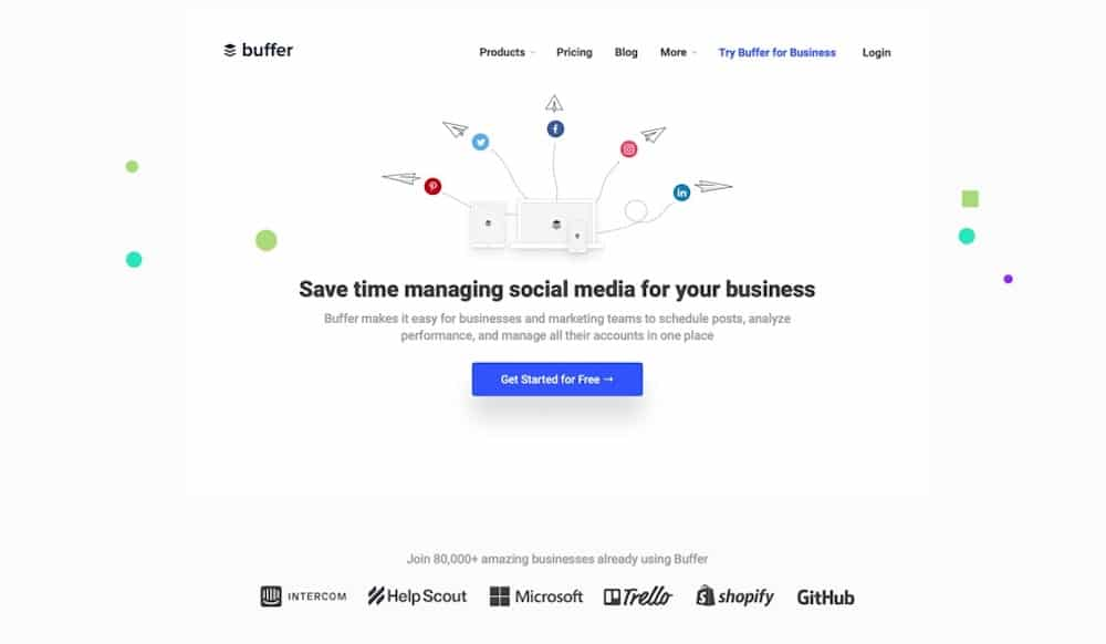 Buffer is an intuitive social media management platform trusted by brands, businesses, agencies, and individuals to help drive social media results.