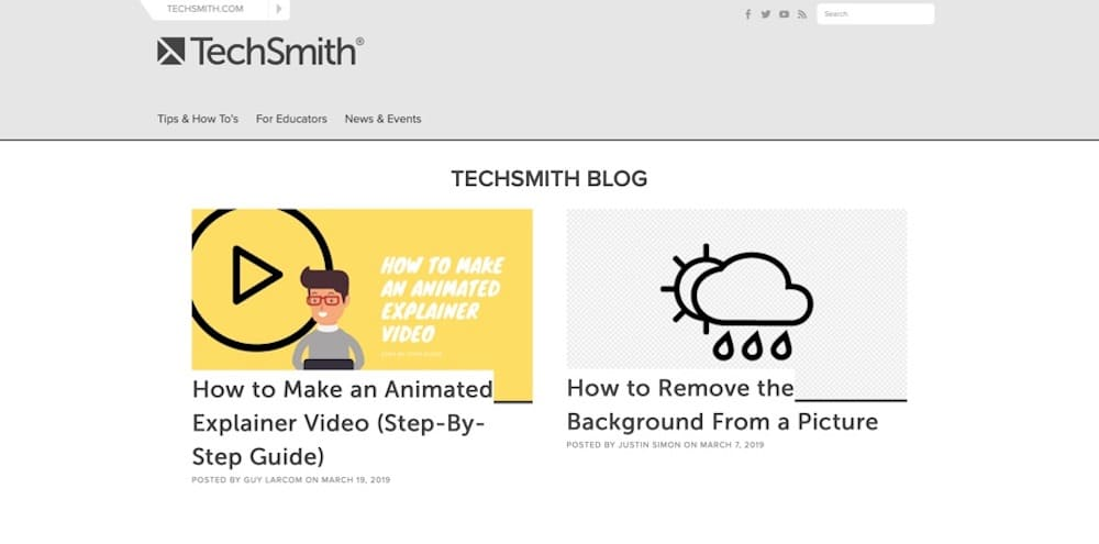 The TechSmith screen capture and video editing blog provides tips, tricks, and advice to create high-quality screenshots, screencasts, and videos.