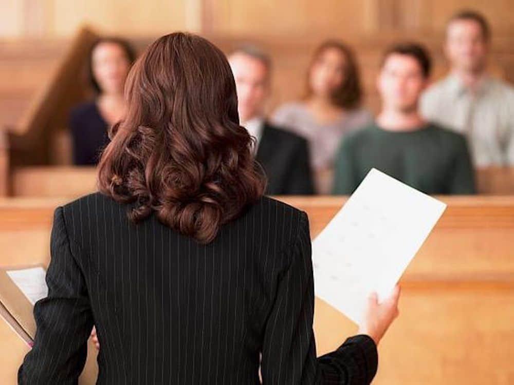 a women lawyer