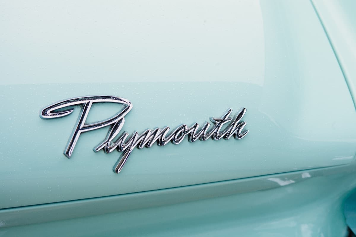 Plymouth Typography Logo