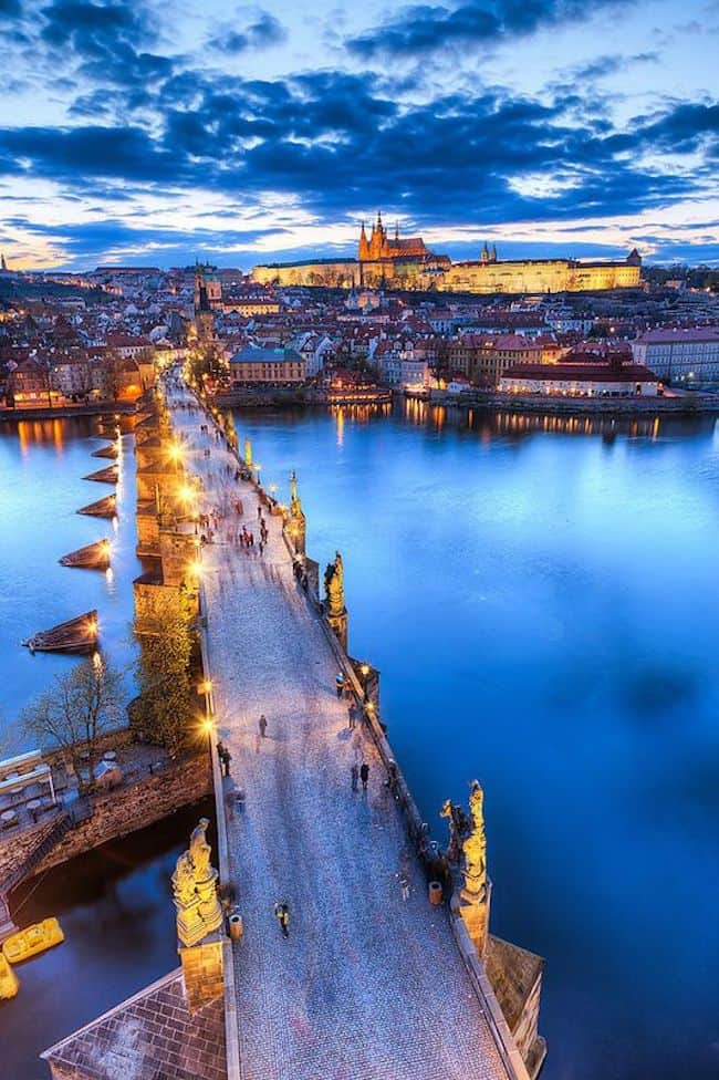 Prague the city of bridges