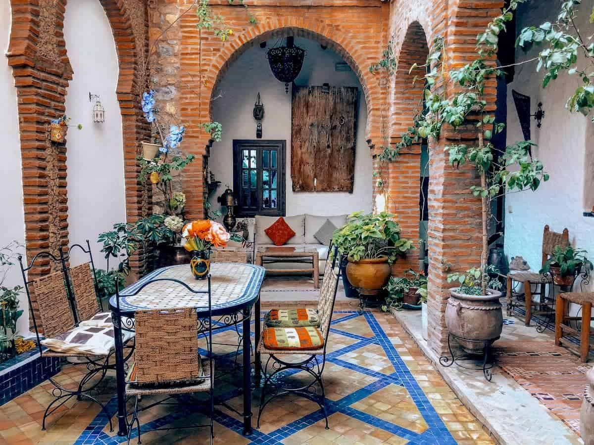 Spanish Styled patio