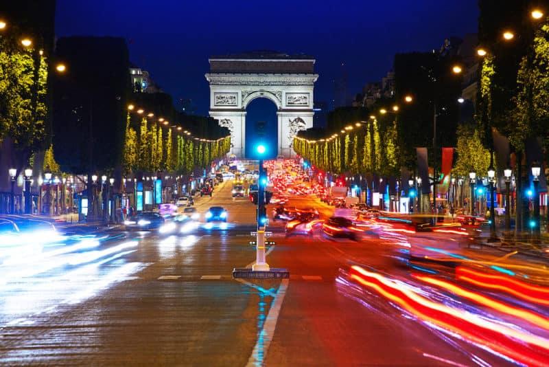 Arc de Triomphe in Paris Arch of Triumph