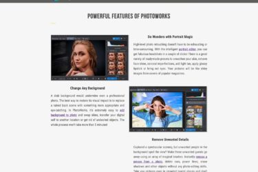 photoworks features