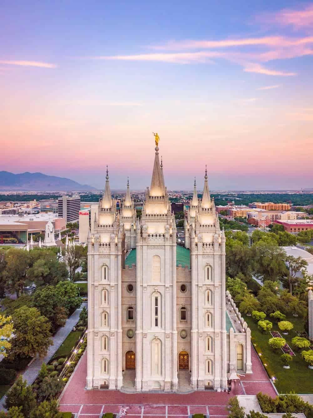 Lake Temple Utah