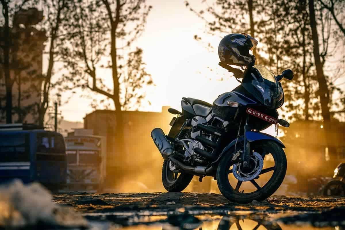 Rad Motorcycle in Kathmandu Nepal