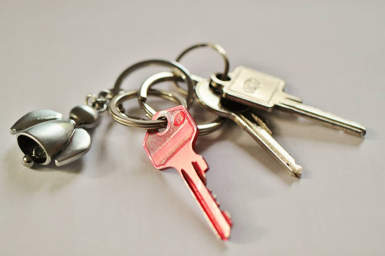 keys colour