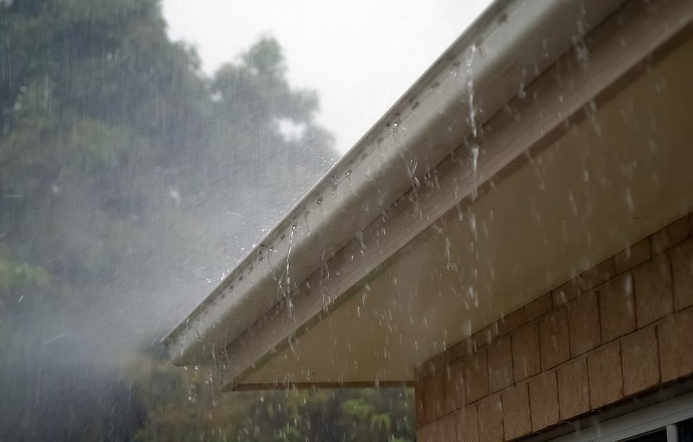 gutters and spouts