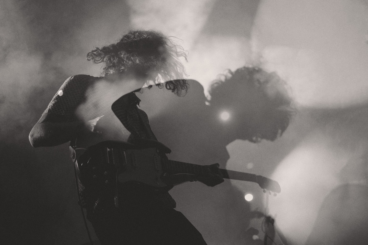 Film Damage of a Guitarist