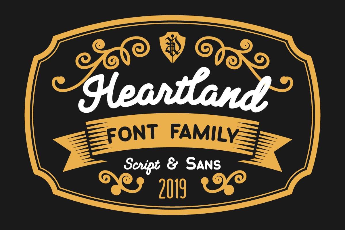 Heartland Font Family