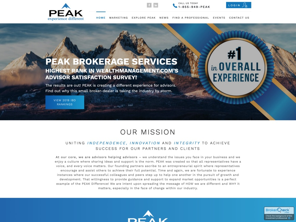 Peak Brokerage Services, LLC – P-(855) 949-PEAK