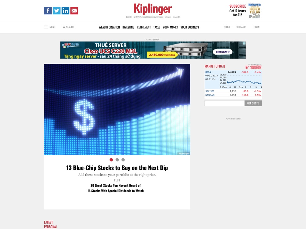 Personal Finance News, Investing Advice, Business Forecasts