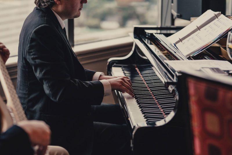 A jazz pianist