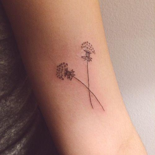 Dandelion-dainty-flower-tattoos