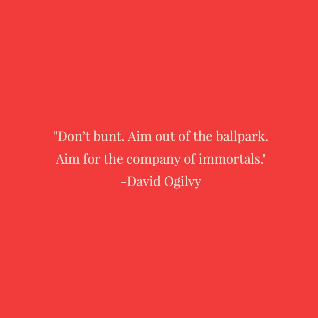 David Oglivy Quote