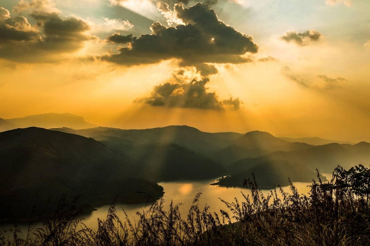 Kerala India Sunset