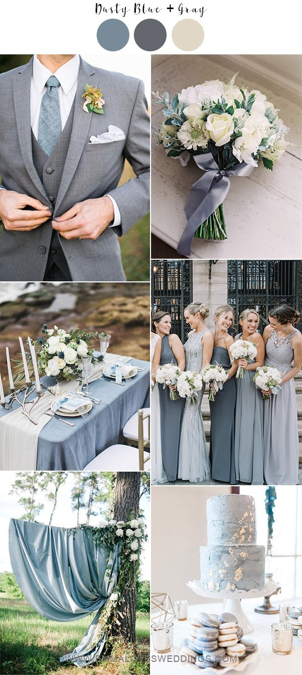 dusty-blue-and-gray-neutral-wedding-color-ideas