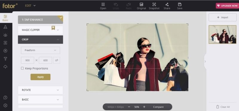 Develop Your Online Shop with Fotor