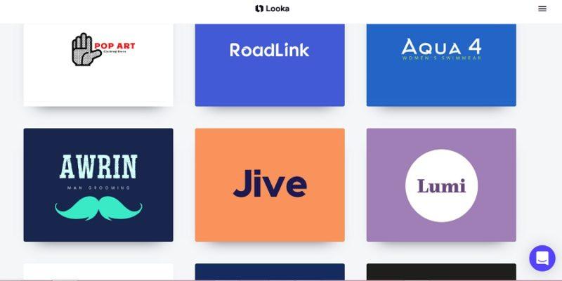 logo maker, looka logo maker, brand identity,