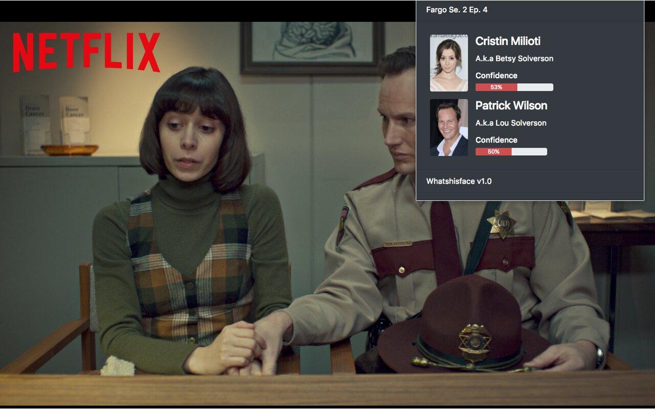 Face recognition for Netflix!