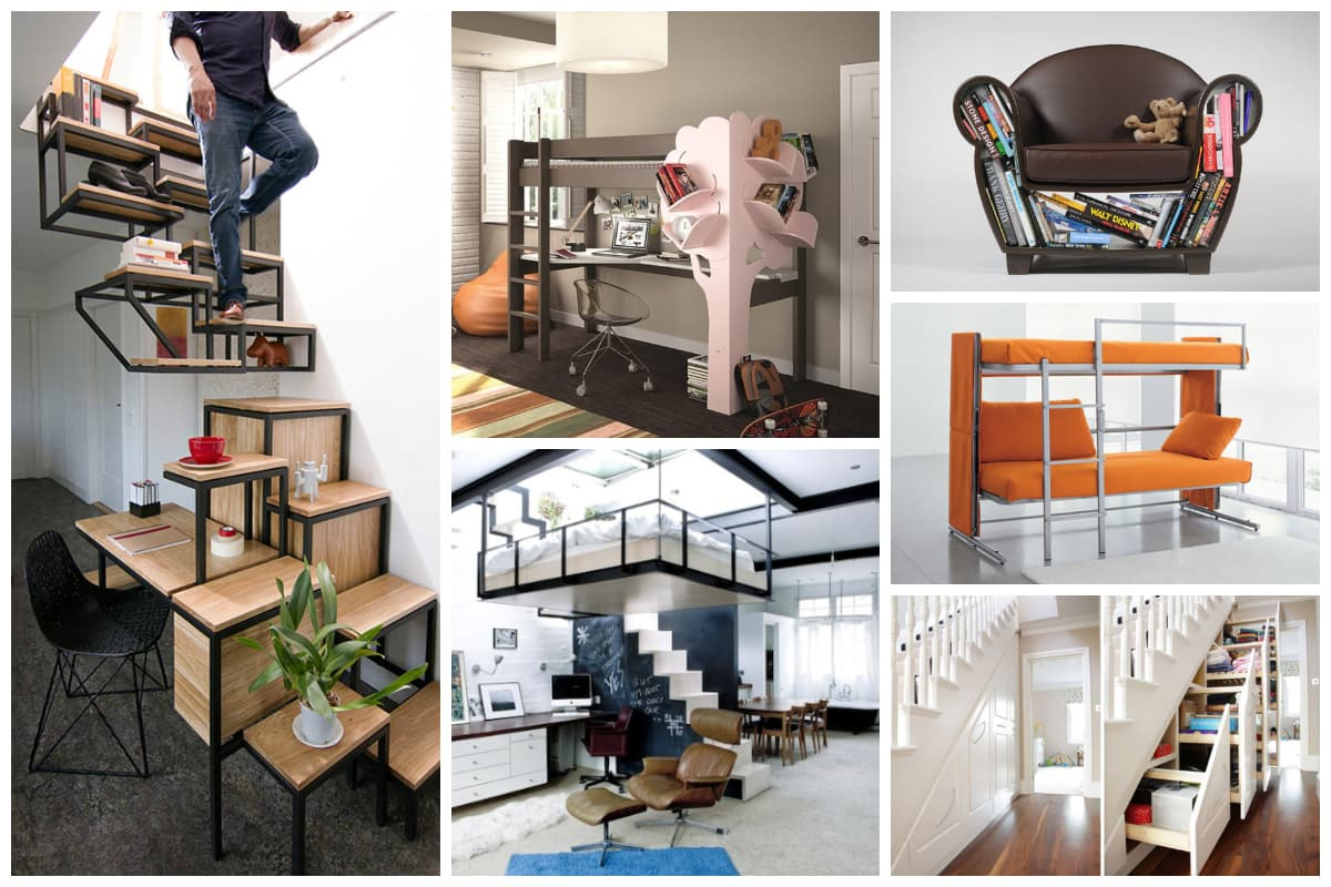 20 Cool Examples Of Space Saving Furniture Inspirationfeed