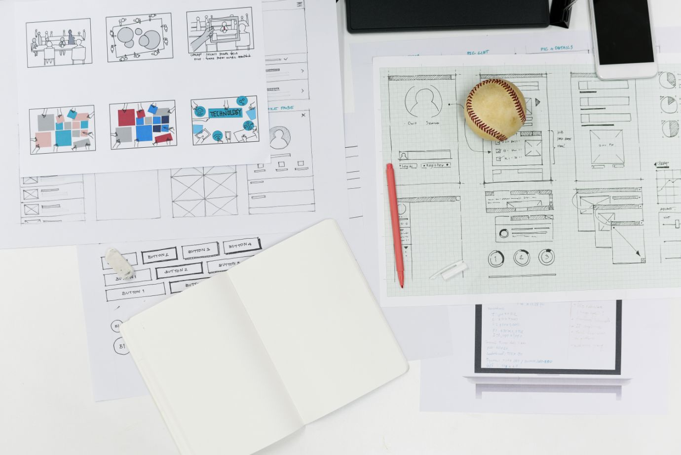 Here is why you need a mockup before starting a design or development