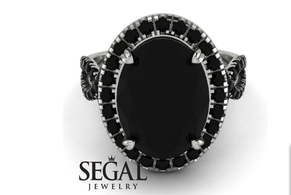 Gorgeous Black Diamond Rings Are The New Trend Inspirationfeed