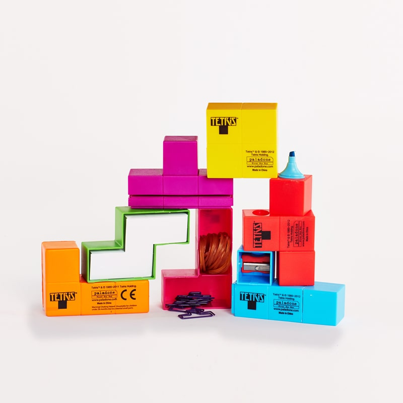Tetris-Desk-Tidy-Set
