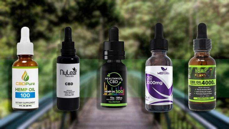 5 Best CBD Oil for Pain in The Market