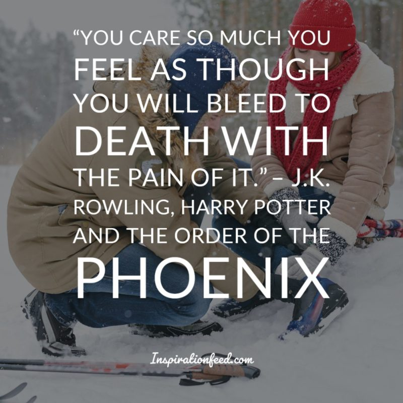 harry potter quotes on courage and hope inspirationfeed