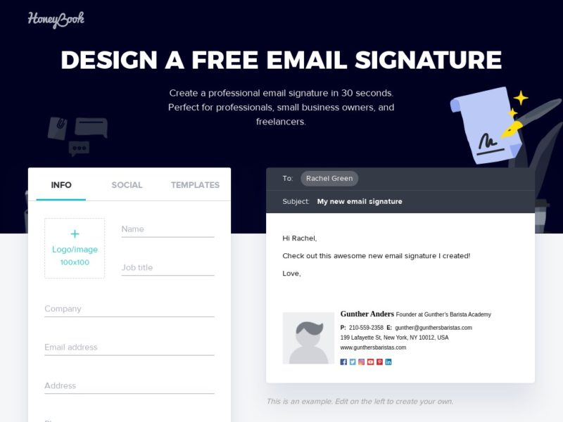 email signature generators