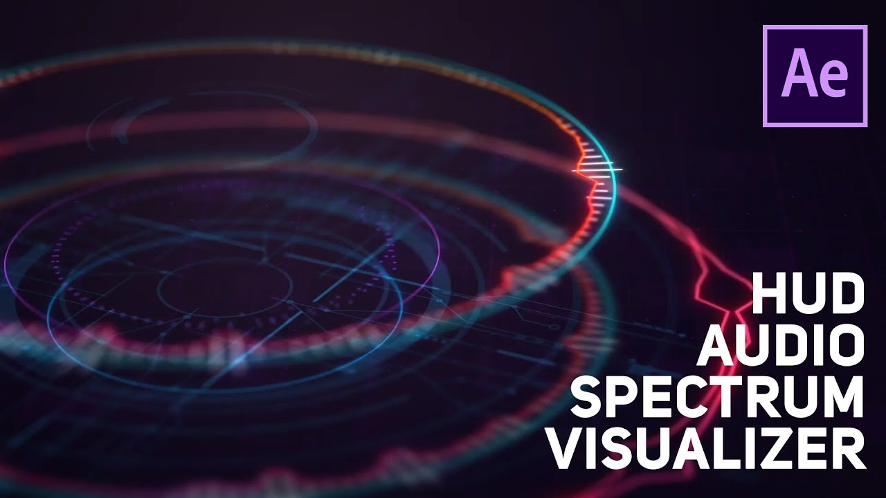 After Effects - The Audio Spectrum Effect