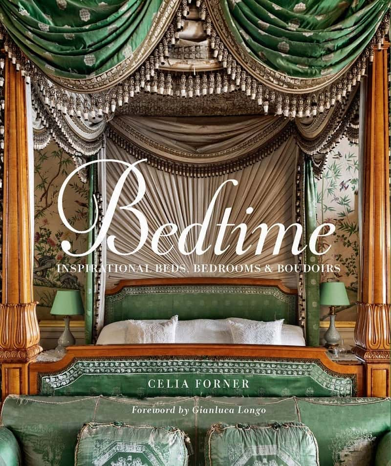 Bedtime Inspirational Beds, Bedrooms, and Boudoirs by Celia Forner-min
